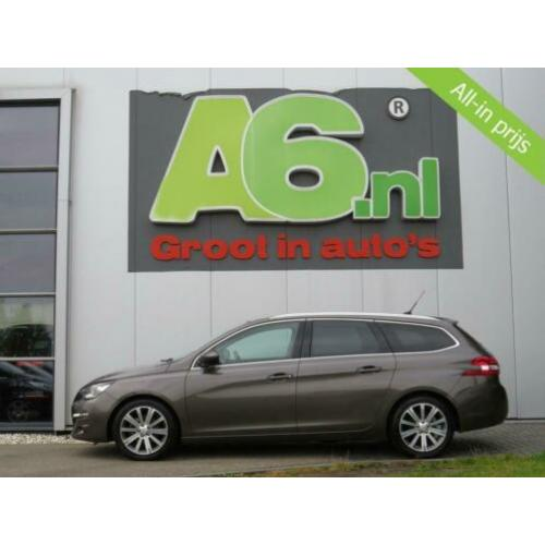 Peugeot 308 SW 1.6 BlueHDI Blue Lease Executive Cognac Leder