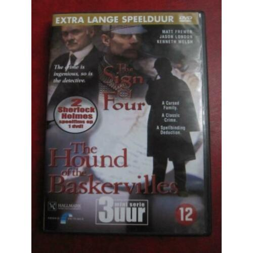 Sherlock Holmes-The Sign of Four+The Hound of the Baskersvil