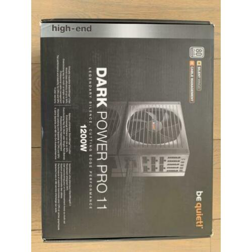 Be Quiet! Dark Power Pro 11 1200W platinum voeding