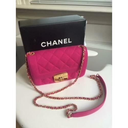 Authentieke Chanel tas, mini flap bag