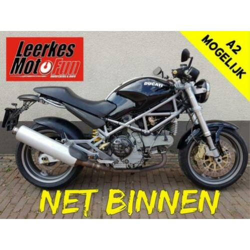 Ducati Monster 1000 S i.e. / M1000 S IE / 1000S zwart (2004)