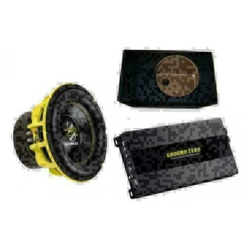 Subwoofer set Ground Zero 1500 watt SPL