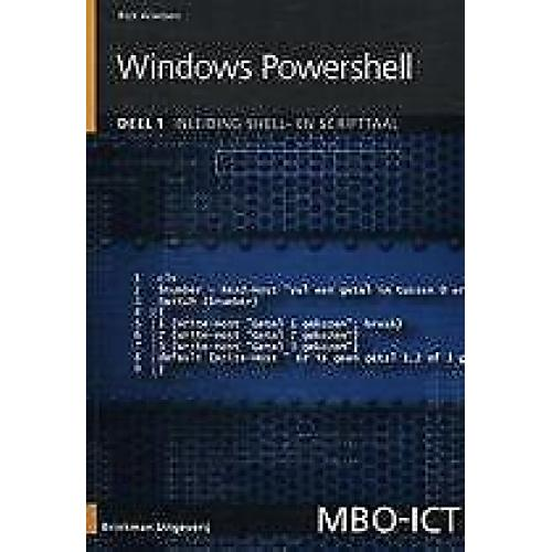 MBO ICT Windows powershell 9789057523465
